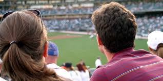 dating at a baseball game