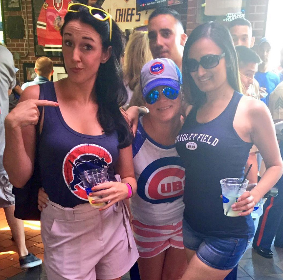 chicago cubs girls
