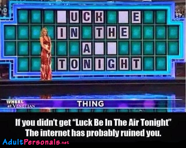 Luck Be In The Tonight Sex Meme