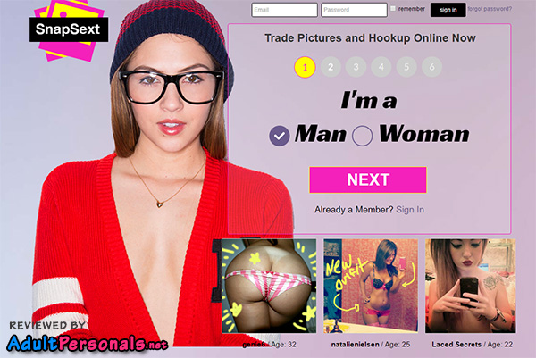Snapsext Review by AdultPersonals