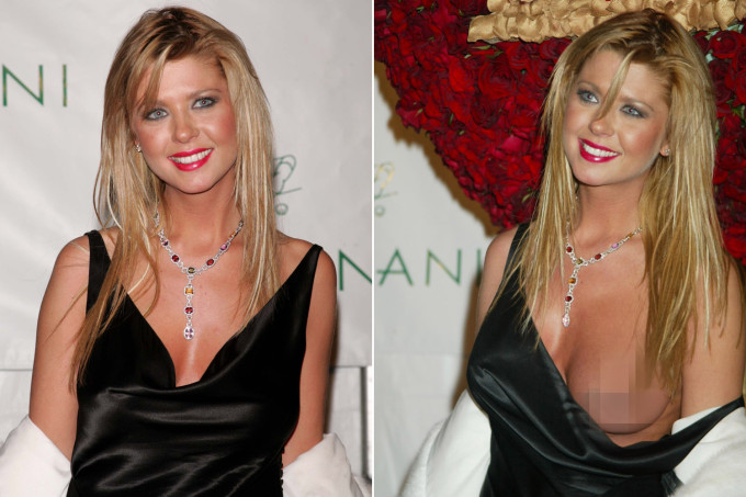 tara reid nipple exposed