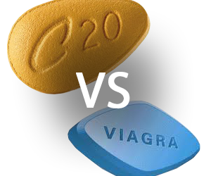 difference between viagra and cialis