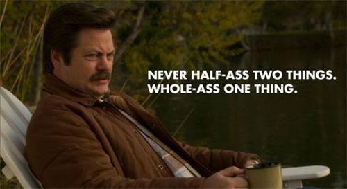 Half Ass Rule