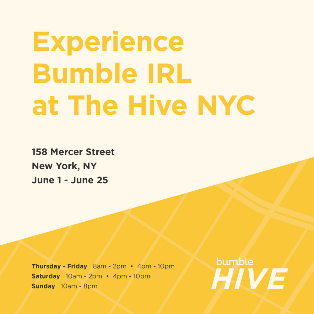 Bumble The Hive dating bar