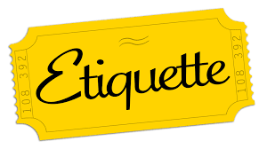 Etiquette Graphic