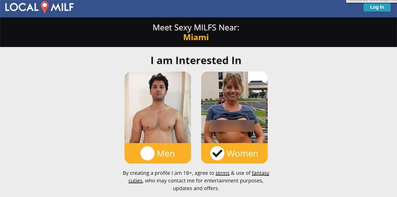 localmilf.com screenshot